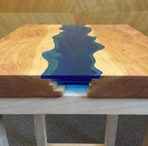 Topographic Table - Topographic coffee table